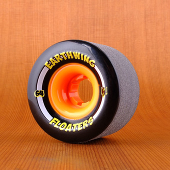Earthwing Mini Floaters 64mm 84a Wheels - Black