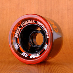 Never Summer 72mm 78a Wheels - Orange