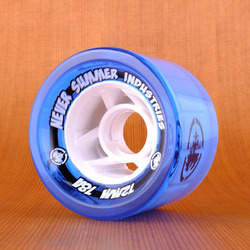 Never Summer 72mm 78a Wheels - Blue