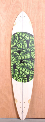 "Globe 44"" Monstera Longboard Deck"