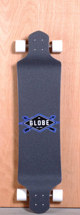 "Globe 41"" Geminon Drop Down Longboard Complete - Blue/White"