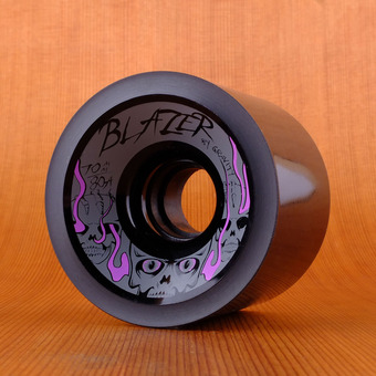 Gravity Blazers 70mm 80a Wheels - Black