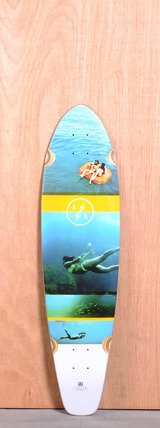 "Globe 36"" Strange Rumblings Longboard Deck"