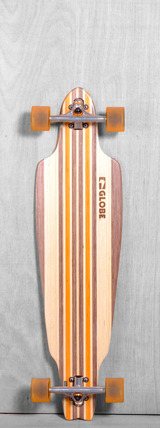 "Globe 38"" Prowler V-Ply Longboard Complete - Natural Orange"