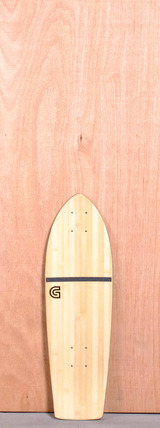 "GoldCoast 26"" Beacon Bamboo Longboard Deck"