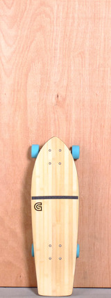 "GoldCoast 26"" Beacon Bamboo Longboard Complete"