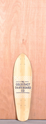 "GoldCoast 27"" Salvo Longboard Deck"