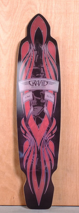 "Gravity 45"" Big Kick Longboard Deck"