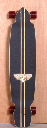 "Gravity 45"" Big Kick Longboard Complete"