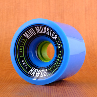 Hawgs Mini Monster 70mm 78a Wheels - Blue