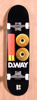 "Plan B Way Shells 8.1"" Skateboard Complete"