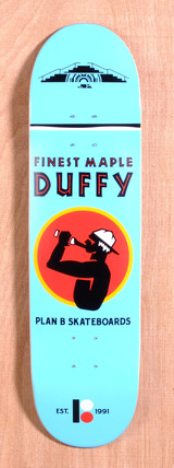 "Plan B Duffy Spirit 8.3"" Skateboard Deck"