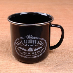 Poler Camp Mugs - Black
