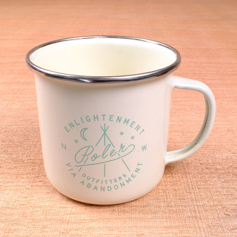 Poler Camp Mugs - Cream