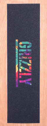 "Grizzly Pudwill Stamp Grip Tape 9"" x 33"" Sheet - Tie Dye"