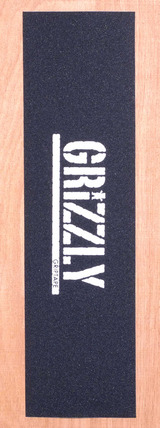 "Grizzly Stamp Print Grip Tape 9"" X 33"" Sheet - White"