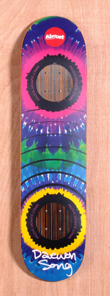 "Almost Daewon Tie Dye 2.0 7.75"" Skateboard Deck"