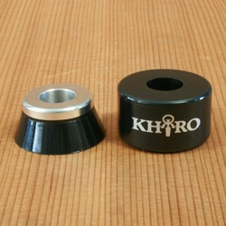 Khiro KBAC1 95a Black Bushings
