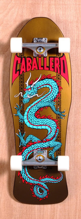"Powell 29.75"" Caballero Chinese Dragon Skateboard Complete"