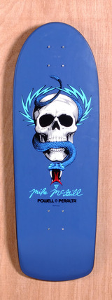 "Powell 30.25"" McGill Skull & Snake Skateboard Deck"