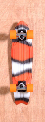 "Globe 23"" Bantam ST Skateboard Complete - Clown Fish"