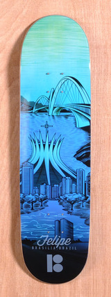 "Plan B Felipe City 8.3"" Skateboard Deck"