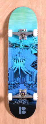 "Plan B Felipe City 8.3"" Skateboard Complete"