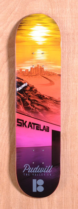"Plan B Pudwill City 7.7"" Skateboard Deck"