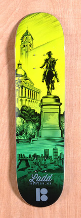 "Plan B Ladd City 8.0"" Skateboard Deck"