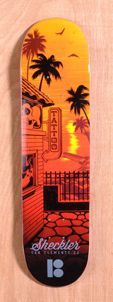 "Plan B Sheckler City 8.0"" Skateboard Deck"
