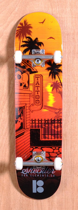 "Plan B Sheckler City 8.0"" Skateboard Complete"