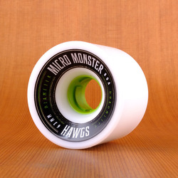 Hawgs Micro Monster 63mm 80a Wheels - White