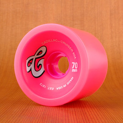 Cadillac Cruisers 70mm 80a Wheels - Pink