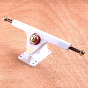 "Caliber II 10"" Trucks - White Gold 50 Degree"