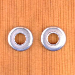 Caliber Small Cupped Washers - Polished