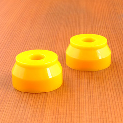Blood Orange Wedge 92a Bushings - Yellow