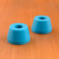 Blood Orange Cone 80a Bushings - Aqua
