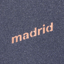 "Madrid Flypaper Downhill 10.5"" x 12"" Grip Tape, 4 Pack - Black"
