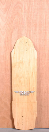 "Gravity 35"" Slick Ricker Longboard Deck"