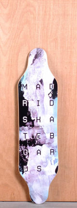 "Madrid 37.375"" Paint Longboard Deck"