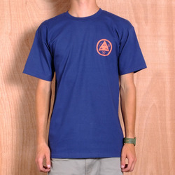Welcome Talisman T-Shirt - Blue/Peach