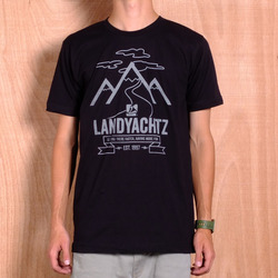 Landyachtz Mountain T-Shirt - Black