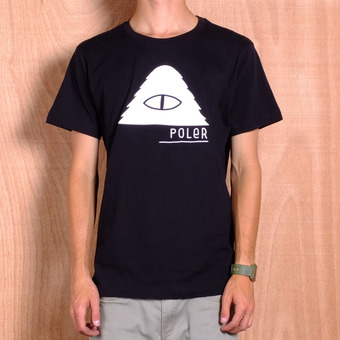 Poler Cyclops Black T-Shirt