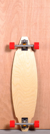 "TLS 35"" Basic Longboard Complete - Red"