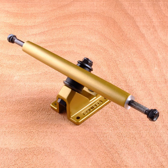 "Caliber II 10"" Trucks - Satin Gold 50 Degree"