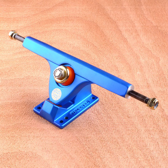 "Caliber II 10"" Trucks - Satin Blue 50 Degree"