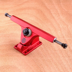 "Caliber II 10"" Trucks - Satin Red 50 Degree"