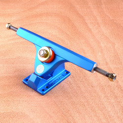 "Caliber II 10"" Trucks - Satin Blue 44 Degree"