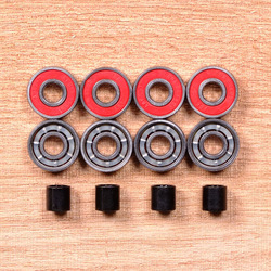 Blood Orange Abec7 8mm Bearings
