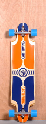 "Earthwing 39"" Supermodel 3D Drop Thru Longboard Complete - Orange"